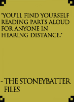 The Stoneybatter Files